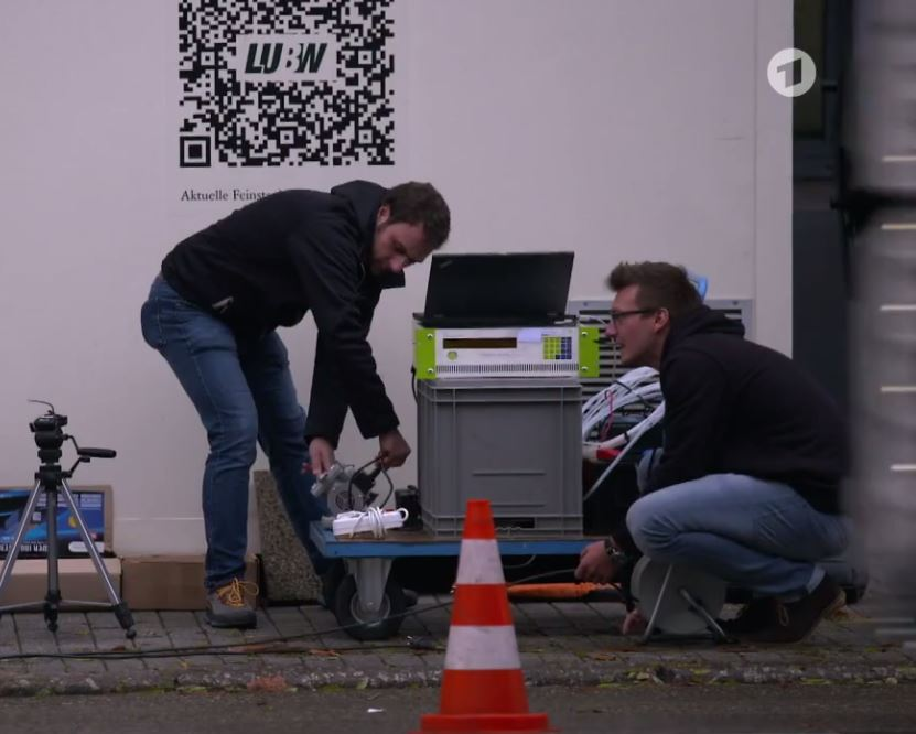 "ECO PHYSICS CLD 66 Featured in German ARD TV-Report ""Das Diesel-Desaster"""