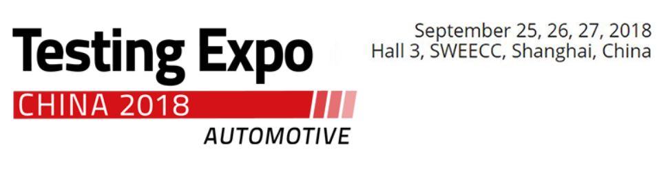 Automotive Testing Expo China 2019